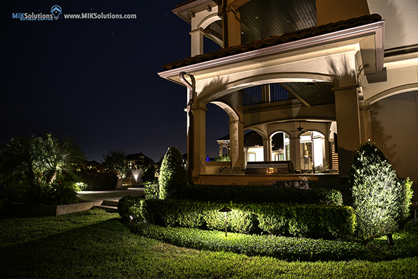 Led outdoor landscape lighting houston dallas miksolution lanscape lights outdoor aloadofball Choice Image