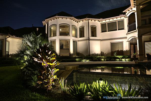 outdoor lighting design installation miksolution